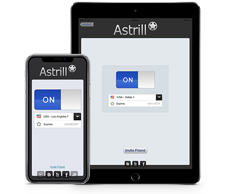Astrill for iOS