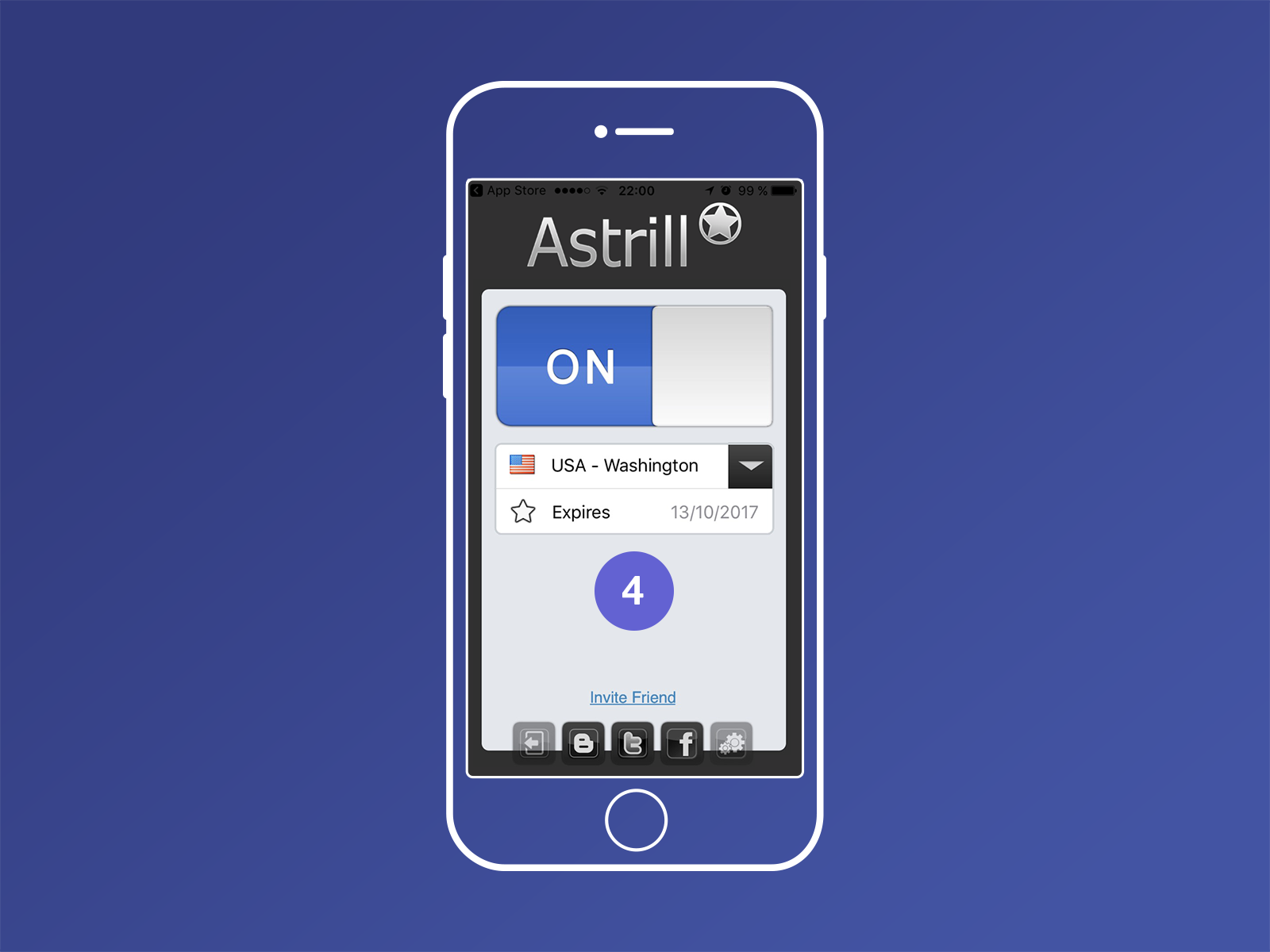 Browse the web securely from your iOS devices with Astrill VPN App