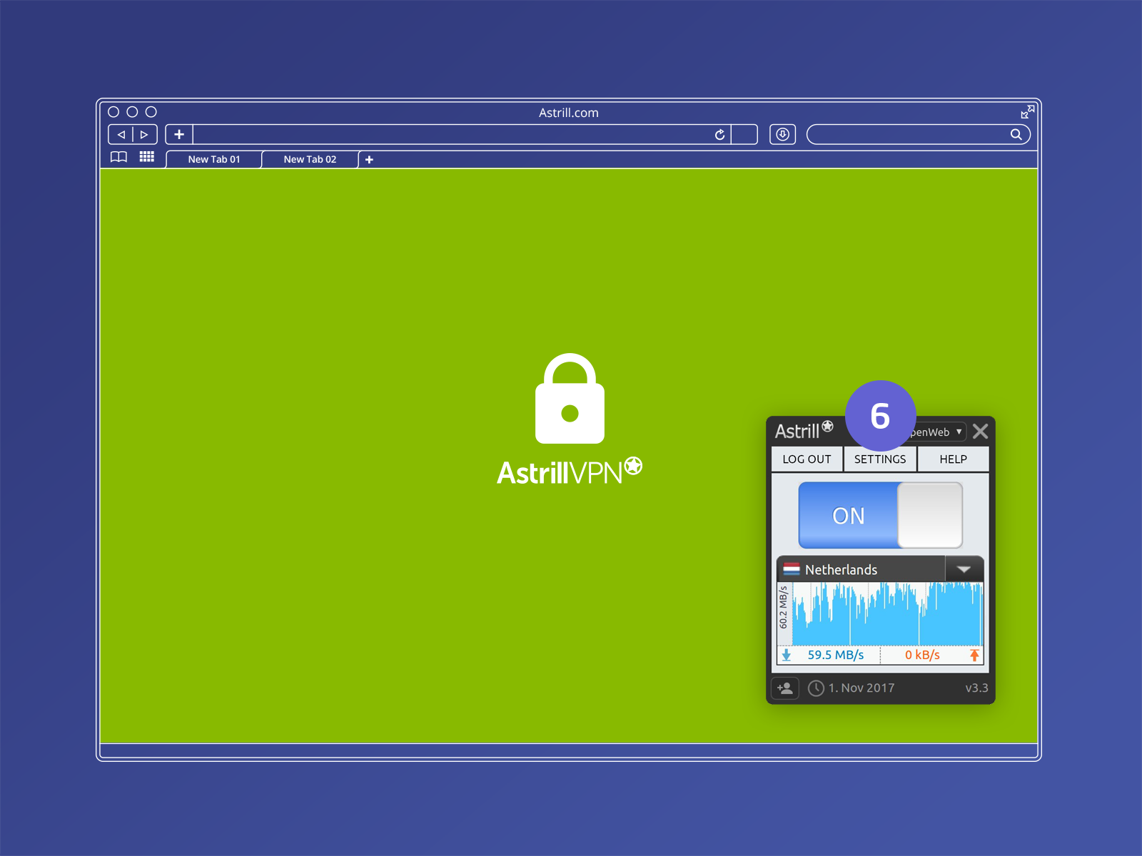 Download best VPN client for Mac for privacy, speed & unblock