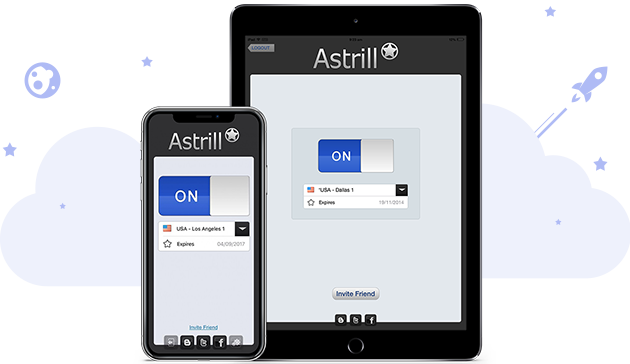 Browse the web securely from your iOS devices with Astrill